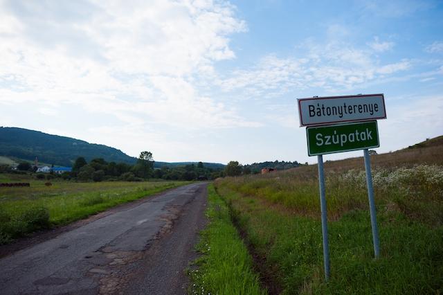 Ingang naar het dorp